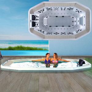 Outdoor spa Lagoon
