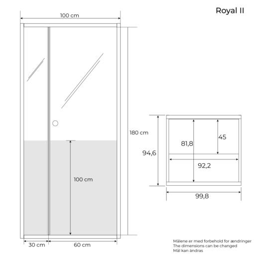 sauna Royal 2 dimension