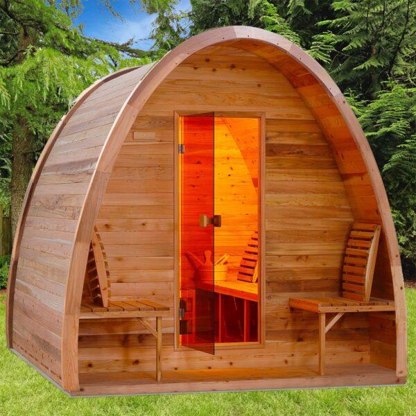 Nordland Rustic sauna cabin - Nordkap Living