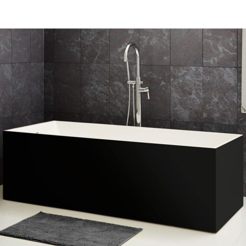 Badia black bathtub