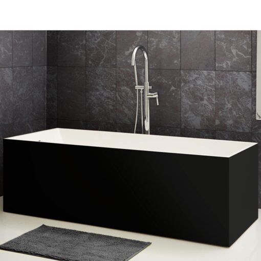 Bañera Badia en negro