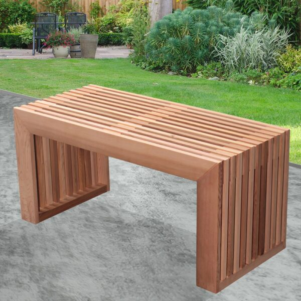 bench cedar