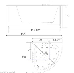 UK streamline dimensions