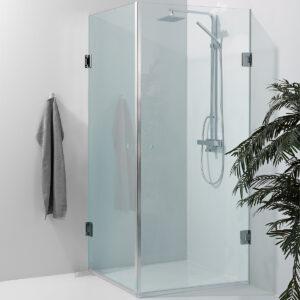 Corner shower - brusehjørne