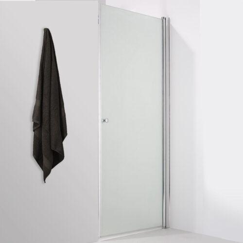 frosted door