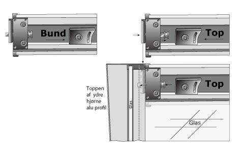Easy Way-systemet gör det möjligt att montera duschkabinen utan användning av verktyg